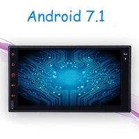 Android 7,1 Автомобильный gps плеер Радио Видео плеер gps навигация автомобиля стерео dvd для Mitsubishi outlander lancer asx 2012 2013 2 din