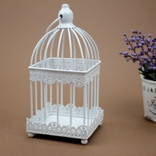 PINNY Romantic European Iron Candle Stand Metal Candlestick Moroccan Lanterns Vintage  Crafts Nordic Holder
