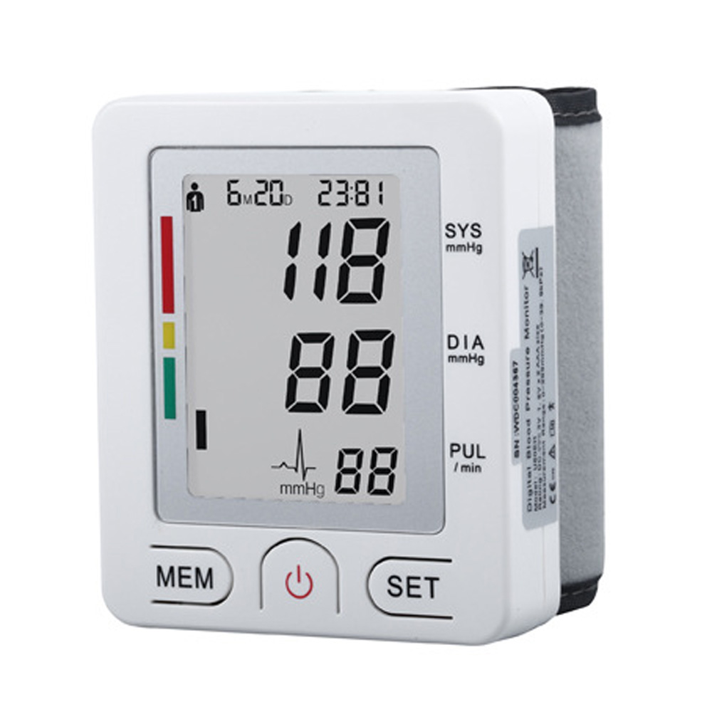 Wrist Type  Electronic Sphygmomanometer Household  Electronic Sphygmomanometer  Electronic Blood Pressure Monitor high quantity medicine detection type blood and marrow test slides