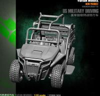 Yufan Model 1/35 Resin Model Originally YFWW35 1854 Of U.s. Army All Terrain Vehicle