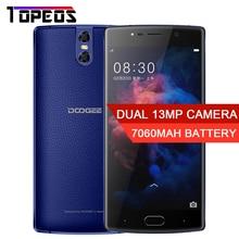"""Doogee BL7000 смартфон 7060 мАч двойной Камера 13MP 5.5 """"MTK6750T Octa Core 1.5 ГГц 4 ГБ + 64 ГБ Android 7.0 отпечатков пальцев Смартфон"""