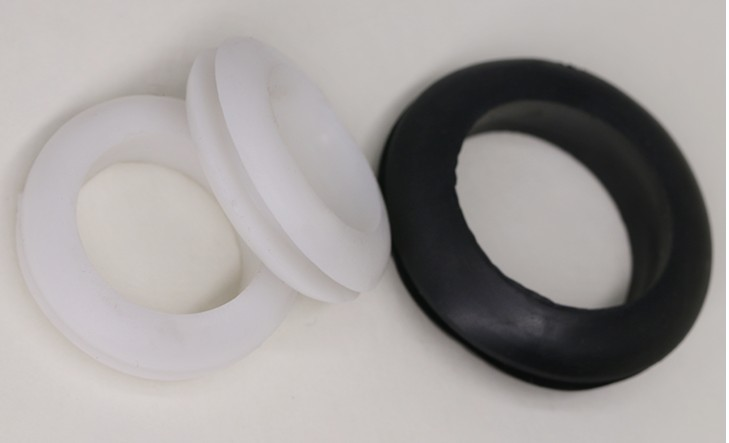 300 PCS 6mm Inner Diameter Rubber Cable Wiring Grommets Gasket Ring