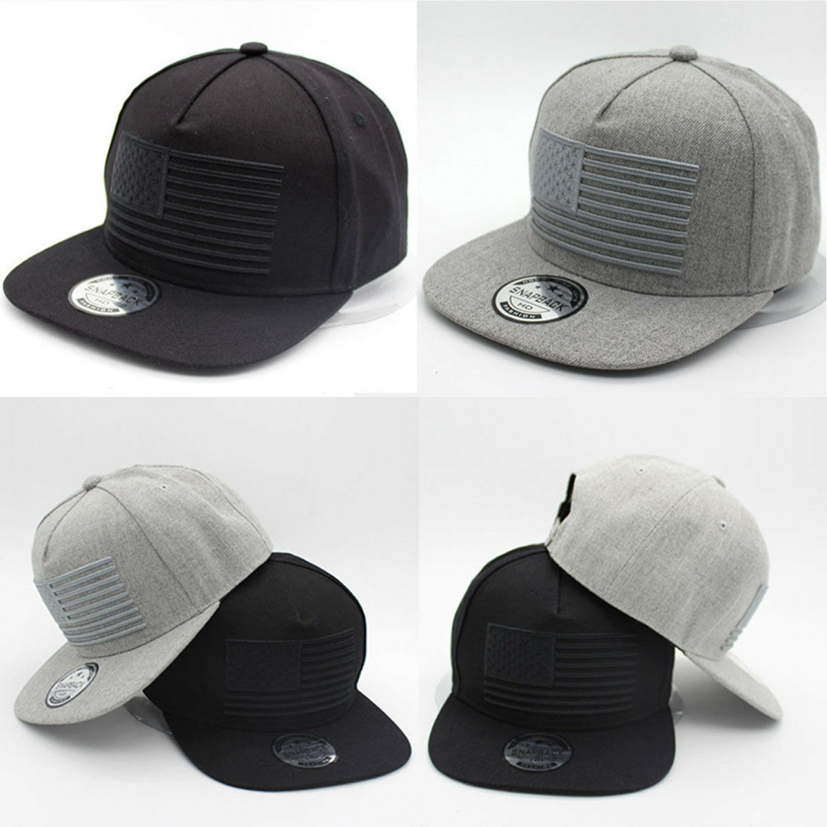 Adjustable Cap Snapback Flat Brim-Hat Baseball-Cap Unisex Newest Hot Hip-Hop Men