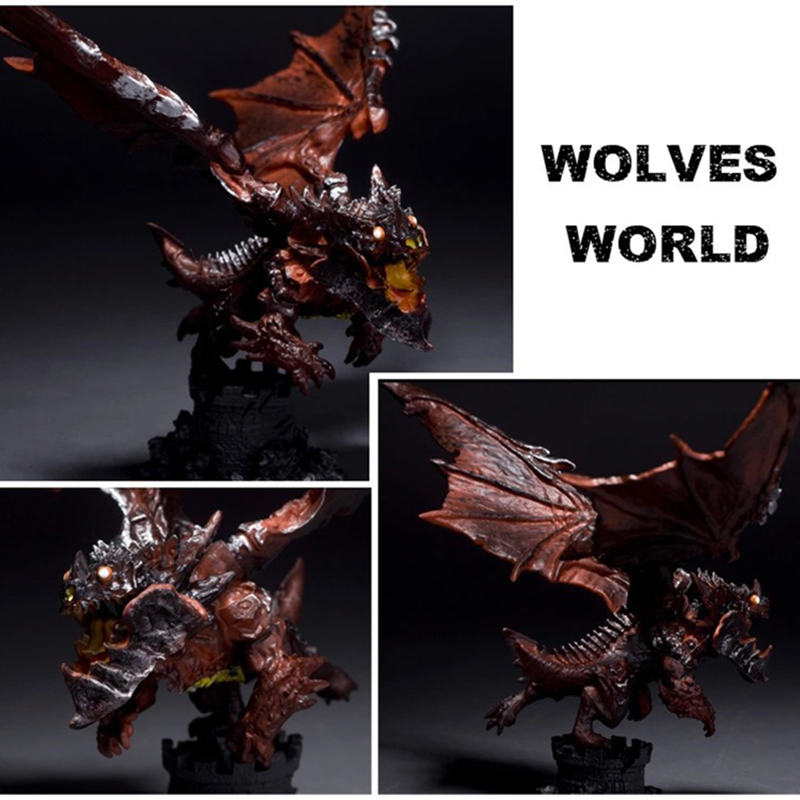 New WOW Deathwing Neltharion in Cataclysm Action Figure MMORPG Video Game Dragon Model Game Players Fan Collection Desk Decor 1