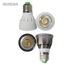 цена на Led bulb Lampada E27 GU5.3 GU10 MR16 lights LED COB Spotlight Dimmable 10w 7w 5w Spot Light Bulb high power lamp DC 12V 85-265V