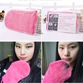 Limpieza Toalla de Microfibra Reutilizable Guante Directo de Eliminación de Maquillaje Cosmético Nuevo 1 unid Caliente
