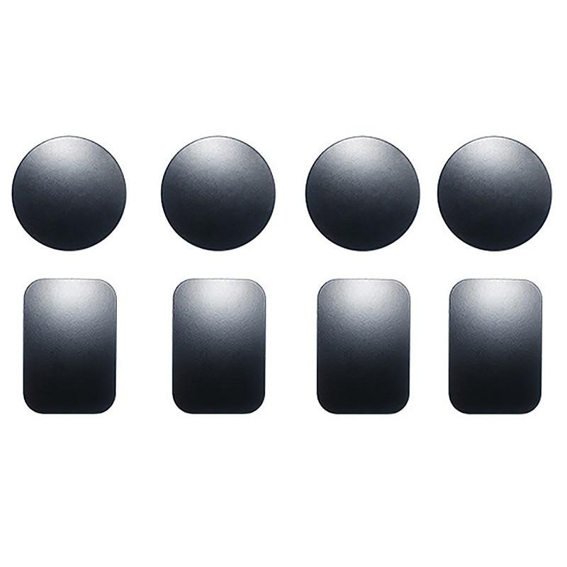 1 Paar Metalen Plaat Universele Vervangende Zelfklevende Voor Magnetische Magnetisme Auto Telefoon Houder Stand Beugel 2019 Official