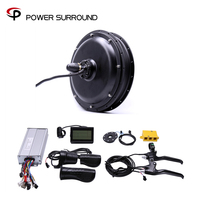 Limited Rushed 2019 Free Shipping 48v 1500w Rear Motor Bicicleta Electric Bicycle Ebike Conversion Kits Wheel