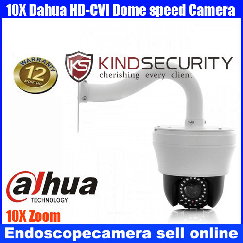 Home 4 inch MINI PTZ Dahua CVI middle speed dome camera 10X Zoom IR Camera,Indoor IR Day/Night Vision HD-CVI Dome Camera 4 mini high speed hd 720p cvi ptz dome camera with osd meun 5 50mm 10x zoom outdoor waterproof ir 70m support cvr dvr