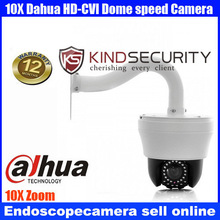 Home 4 inch MINI PTZ Dahua CVI middle speed dome camera 10X Zoom IR Camera,Indoor IR Day/Night Vision HD-CVI Dome Camera