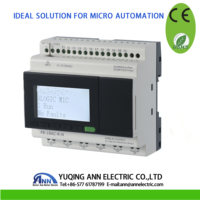 PR 18AC R N with LCD, without cable, 110 240VAC,12 DI, 6 DO,programmable logic controller,mini PLC,smart relay,PLC