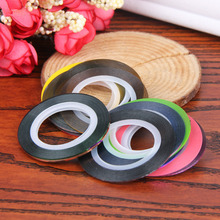 30pcs Rolls Striping Tapes Colorful Line Nail Stickers