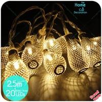 20led String Light Thuis Party Decor Diy Hol Tuin Bruiloft Cafe Winkel Kerst Kerstverlichting Slaapkamer Vakantie Decoratie