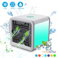 Arctic Air Cooler Personal Space Mini Cooler Air Conditioner Device Home Office Desk