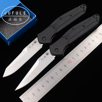 JUFULE New 943 Nylon glass fiber handle D2 blade Copper washer folding camp hunting Pocket outdoor EDC Tool kitchen knife image