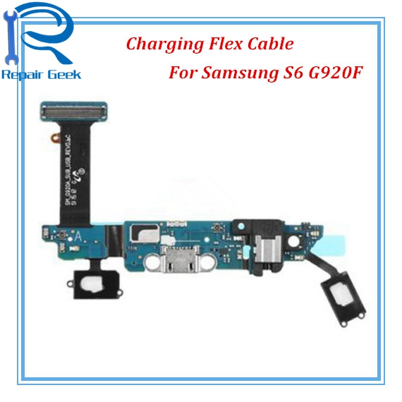 1pcs New Dock Connect Charging Board USB Charger Port Flex Cable For Samsung Galaxy S6 G920 G920F G920A G920V G920P G920T