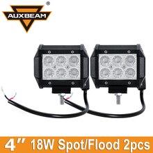 """Auxbeam 4 """"CREE Chips 18 Watt FÜHRTE Arbeitslicht Spot/Flood 4WD SUV Lkw 4X4 ATV UTE Auto Bootsanhänger Wagon 4×4-offroad-fahr Nebelscheinwerfer licht"""