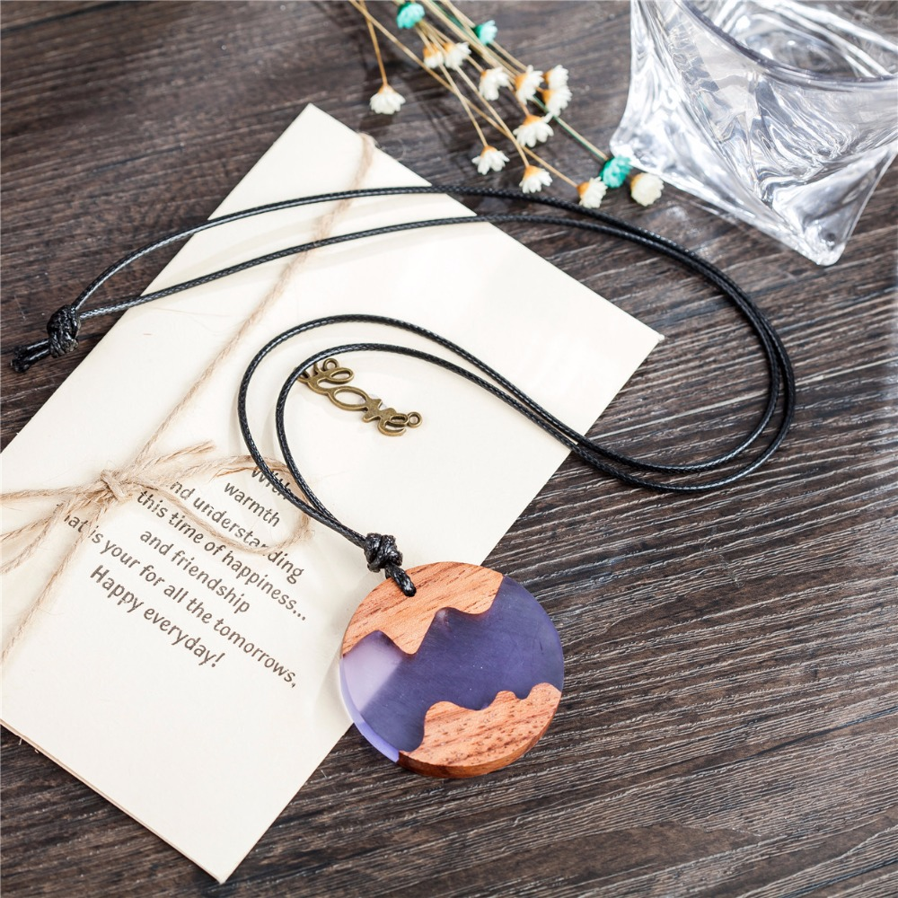 Beautiful resin wood pendant women jewelry statement necklaces beautiful resin wood pendant women jewelry statement necklaces pendants wholesale choker long necklace colar drop shipping in pendant necklaces from aloadofball Choice Image