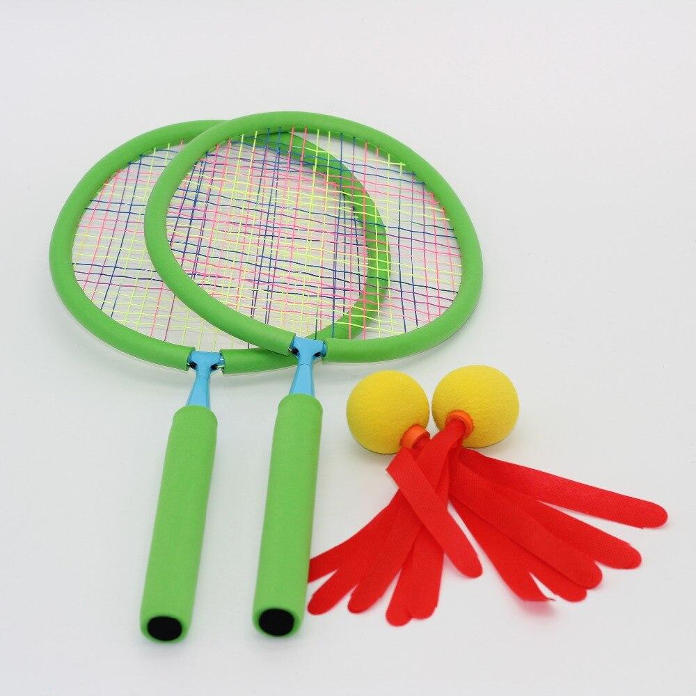 Haute qualité Amusement Doux Badminton jouets pour enfants enfants intérieur et extérieur Boules Sport cadeau Capacité de Mouvement En Développement
