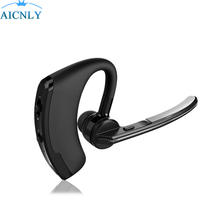 Wi-fi Bluetooth Headset Enterprise Palms Free Noise Cancelling Earphone Headsets With Mic Stereo For Smartphones Drive Xiaomi
