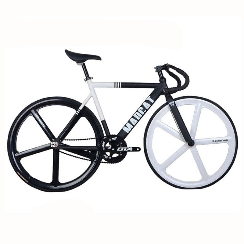 Fixed Gear Bike fixie 700C Bike Frame 52cm Aluminum Alloy FRAME FORK ...