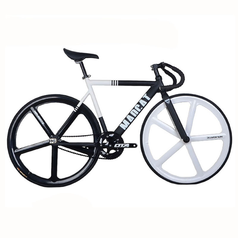fixed gear bike fixie 700c bike frame 52cm aluminum alloy frame fork track bicycle magnesium alloy