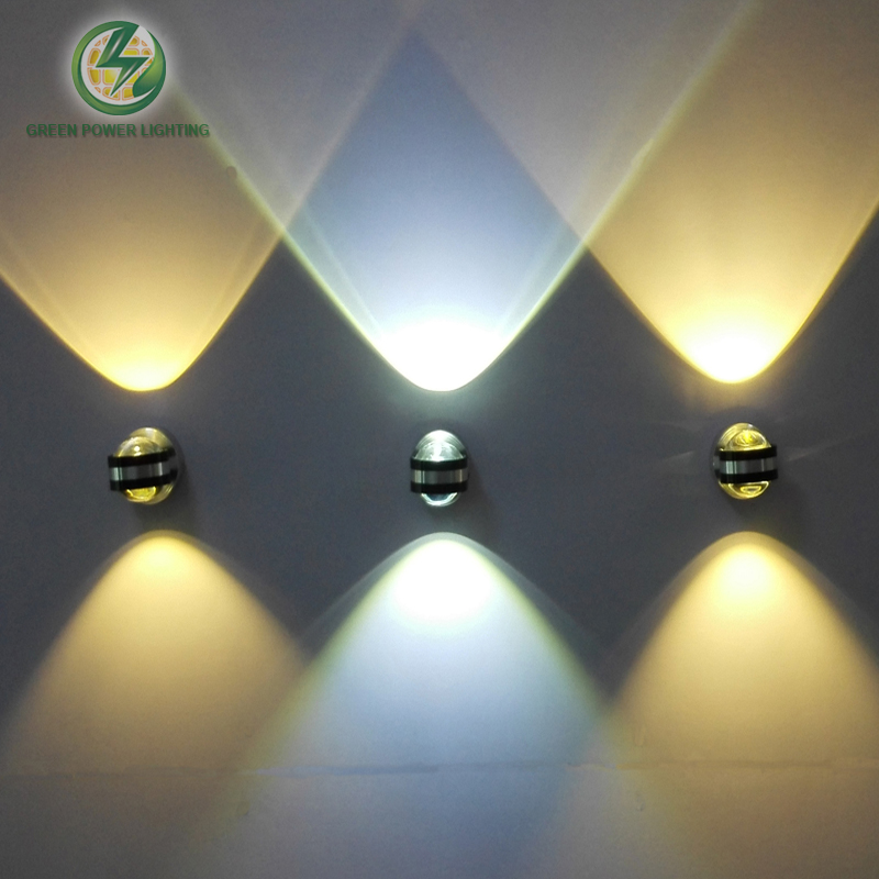 Indoor decorative wall mounted led wall light,led corner ... on Wall Mounted Decorative Lights id=72302