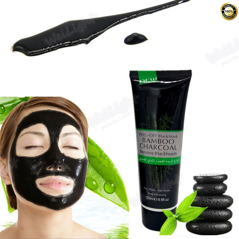 On sale 120ml Face Skin Care Suction Black Mask Facial Mask Nose Blackhead Remover Peeling Peel Off Black Head Dropshipping