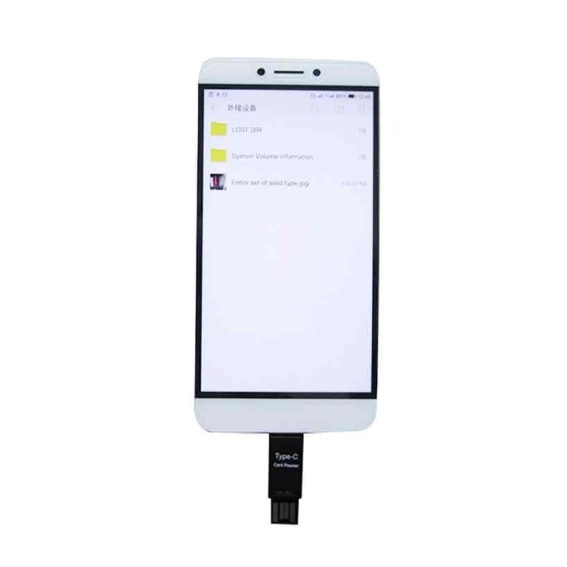 Micro sim sd lecteur de carte usb 2.0 cardreader vente chaude Mini USB 2.0 lecteurs de carte type-c hôte OTG adaptateur pour ordinateur portable téléphone