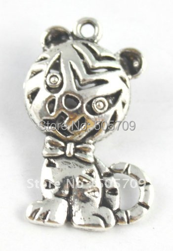 54 шт. тибетское серебро tigerkin Подвески A15716