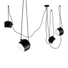 Italian creativity suspension tabour droplight, aluminum pendant lamp Fashion photography studio cafe restaurant bar