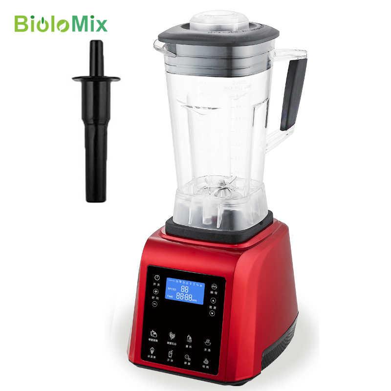TouchPad digitais Temporizador 3HP BPA LIVRE automático profissional smoothies liquidificador poder programa inteligente de alimentos pesados misturador juicer