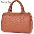 2017 hot sale mulher moda bolsas de couro PU Zíper sólida Do Vintage messenger bags Top handlebags