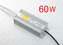 60W 2.5A Universal Power Supply /Transformer /Driver,90~250V AC Input,24V DC Output,Waterproof IP67, for CCTV LED Light Strips