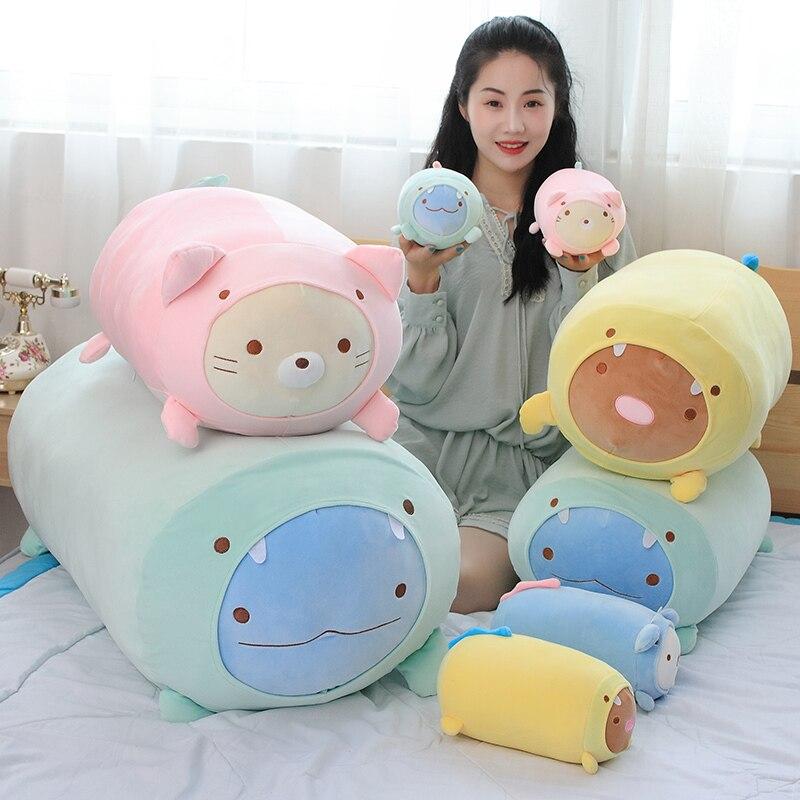 20 cm 60 cm 90 cm Sumikko Gurashi Japonês Anime Brinquedo de Pelúcia Travesseiro de Pelúcia Macia Canto Criatura Brinquedo Miúdos Grandes brinquedo de Presente Travesseiro Para H
