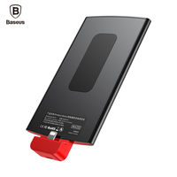 Baseus 4000mAh Backpack Power bank For iPhone 7 6 6s Plus 5 5s se Powerbank Portable External Battery Charger Case For iPhone 8