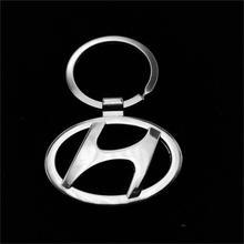 1 pcs,2014 new car logo emblems Keychain Keyrings for HYUNDAI Key Chain Ring Key Fob auto car keychain car key rings