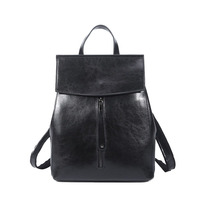 Tassel women leather backpack teenage backpacks for girls vintage feminine backpack Shoulders Rucksack Bag Trend Travel Bag