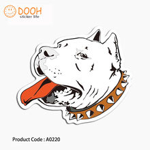 A0220 sticker evil dog zombie hand lets rock bird foot print suitcase laptop guitar luggage DIY skateboard bicycle toy HZ 30(China)