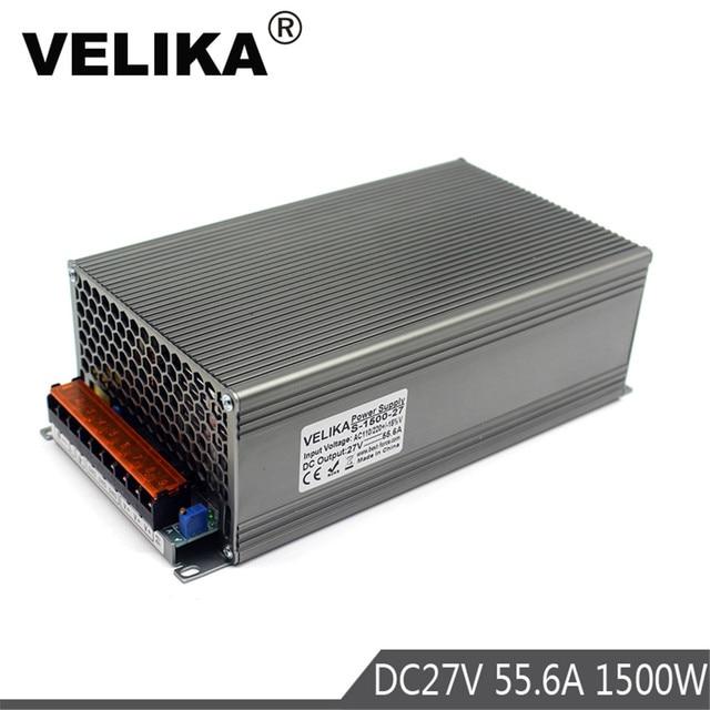 New Model DC Power Supply 27V 55.6A 1500W PSU AC DC Converter 220v ...
