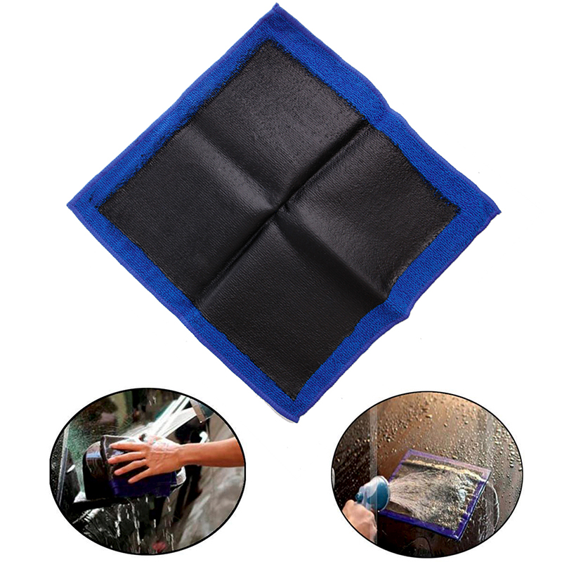 Clay Bar Microfibre Mitt Cloth Towel Car Detailing Cleaning Cloth 12x12 New image