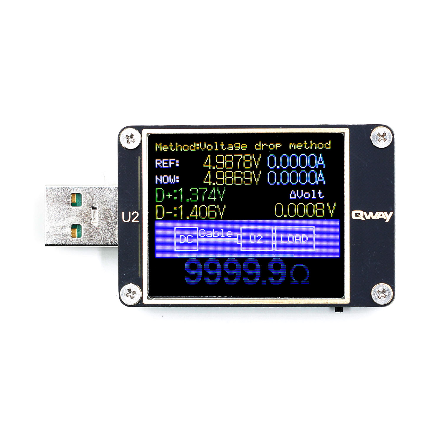 Image 3 - WEB U2 Current And Voltage Meter USB Tester QC4+ PD3.0 2.0 PPS Fast Charging Protocol Capacity Test-in Voltage Meters from Tools