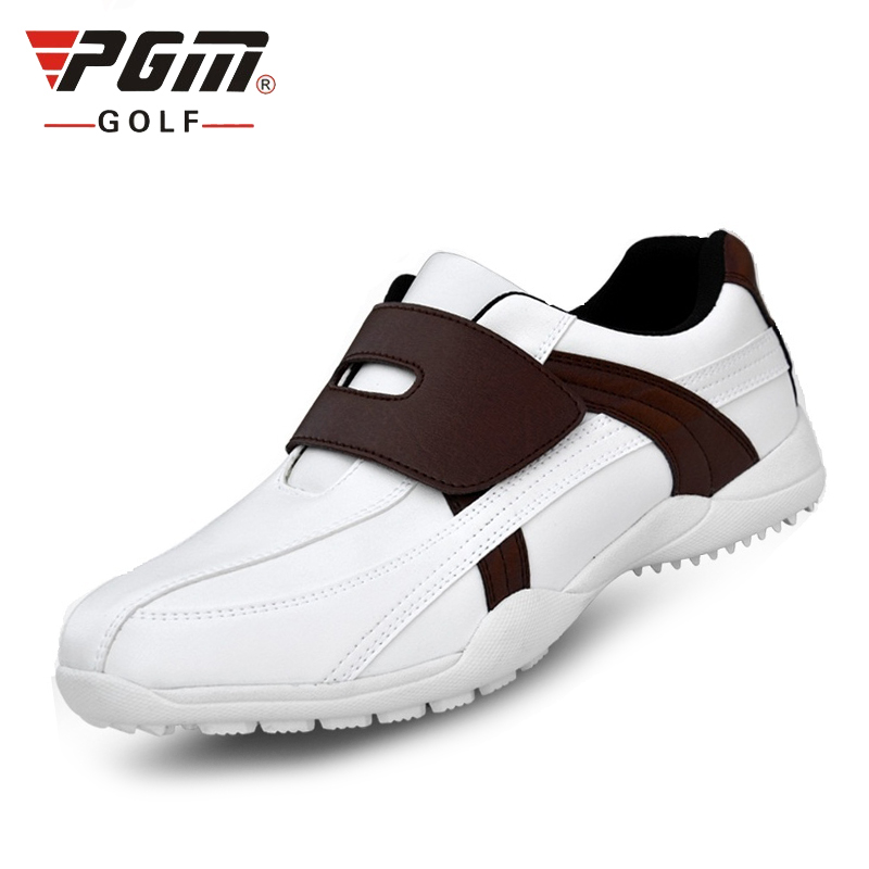 Mens Golf Shoes Microfiber Leather Outdoor Sneakers For ...