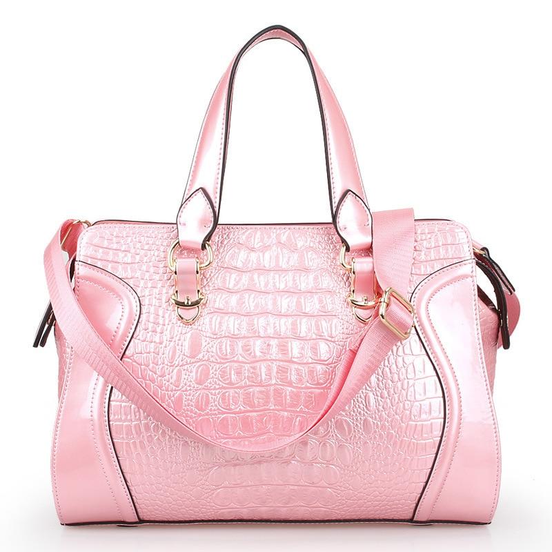 Online Shop Yu BeautyIng Fashion Alligator Pattern Genuine Leather ...