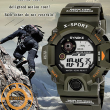 SYNOKE G Style Men Sports Watches Chronograph Military Digital