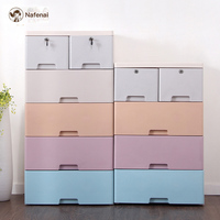 Big Storage Cabinet Plastic drawer organizerclothes storage box underwear organizer and storage wardrobe child box for toys