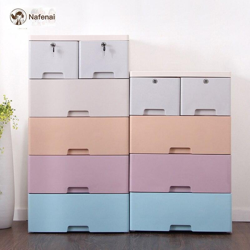 Grande armoire de rangement En Plastique Bureau Bin Boîte de rangement organisateur de tiroir de stockage enfants organisateurs et armoire de rangement enfant
