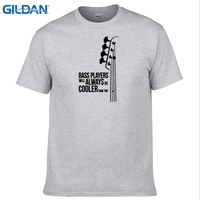GILDAN Fashion Bass Guitar Players Are Cool T Shirt Cotton Double Rhythm Electric Men O Neck