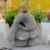 100% Auténtico Real de Piel de Conejo Rex Llaveros Bolsa Colgante Encanto Etiqueta Linda del Conejito de Juguete Muñeca Mochila Bolso Del Coche Llavero
