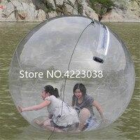 Бесплатная доставка 2 м ходить по воде мяч водных видов спорта шар воды гуляя вода Zorb Надувные людской мяч